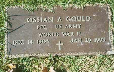 GOULD  (VETERAN WWII), OSSIAN ADOLPHUS - Independence County, Arkansas | OSSIAN ADOLPHUS GOULD  (VETERAN WWII) - Arkansas Gravestone Photos