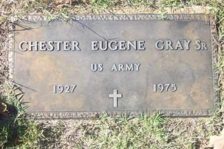 GRAY,  SR  (VETERAN), CHESTER EUGENE - Independence County, Arkansas   CHESTER EUGENE GRAY,  SR  (VETERAN) - Arkansas Gravestone Photos