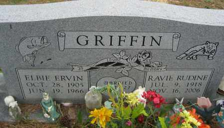GRIFFIN, ELBIE ERVIN - Independence County, Arkansas | ELBIE ERVIN GRIFFIN - Arkansas Gravestone Photos