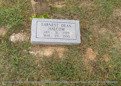 HALCOM, EARNEST DEAN - Independence County, Arkansas | EARNEST DEAN HALCOM - Arkansas Gravestone Photos
