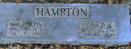 HAMPTON, MAY - Independence County, Arkansas | MAY HAMPTON - Arkansas Gravestone Photos