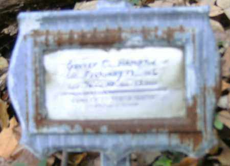 HAMPTON, GROVER - Independence County, Arkansas | GROVER HAMPTON - Arkansas Gravestone Photos