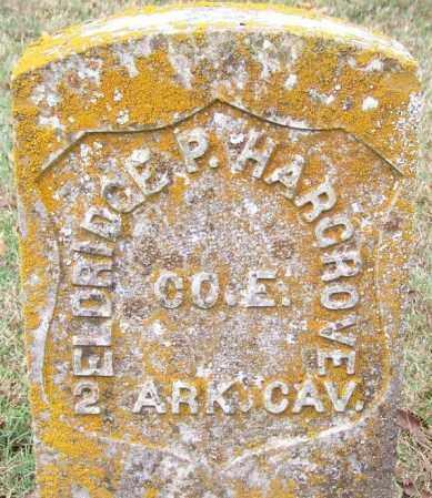 HARGROVE (VETERAN UNION), ELDRIDGE P - Independence County, Arkansas | ELDRIDGE P HARGROVE (VETERAN UNION) - Arkansas Gravestone Photos