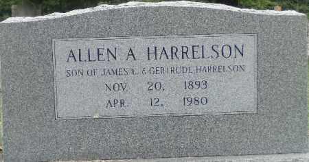 HARRELSON, ALLEN A. - Independence County, Arkansas   ALLEN A. HARRELSON - Arkansas Gravestone Photos