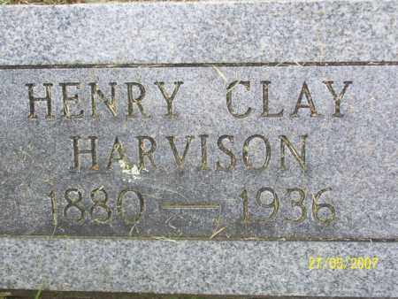 HARVISON, HENRY CLAY - Independence County, Arkansas   HENRY CLAY HARVISON - Arkansas Gravestone Photos