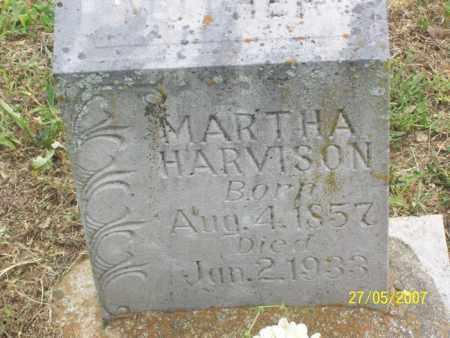 HARVISON, MARTHA - Independence County, Arkansas | MARTHA HARVISON - Arkansas Gravestone Photos