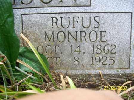 HARVISON, RUFUS MONROE - Independence County, Arkansas   RUFUS MONROE HARVISON - Arkansas Gravestone Photos