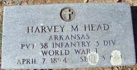HEAD (VETERAN WWI), HARVEY M - Independence County, Arkansas | HARVEY M HEAD (VETERAN WWI) - Arkansas Gravestone Photos