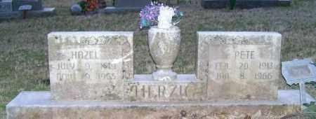 HERZIG, HAZEL - Independence County, Arkansas   HAZEL HERZIG - Arkansas Gravestone Photos