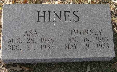 HINES, THURSEY - Independence County, Arkansas | THURSEY HINES - Arkansas Gravestone Photos