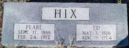 HIX, JAMES EDWARD - Independence County, Arkansas | JAMES EDWARD HIX - Arkansas Gravestone Photos