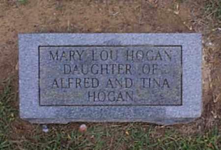 HOGAN, MARY LOU - Independence County, Arkansas   MARY LOU HOGAN - Arkansas Gravestone Photos