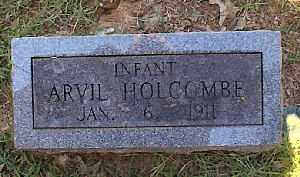 HOLCOMBE, ARVIL - Independence County, Arkansas | ARVIL HOLCOMBE - Arkansas Gravestone Photos