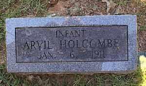 HOLCOMBE, ARVIL - Independence County, Arkansas   ARVIL HOLCOMBE - Arkansas Gravestone Photos