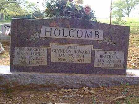 HOLCOMBE, MARY LOUISE - Independence County, Arkansas | MARY LOUISE HOLCOMBE - Arkansas Gravestone Photos