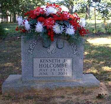 HOLCOMBE, KENNETH J. - Independence County, Arkansas   KENNETH J. HOLCOMBE - Arkansas Gravestone Photos