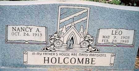 HOLCOMBE, LEO WOODWARD - Independence County, Arkansas | LEO WOODWARD HOLCOMBE - Arkansas Gravestone Photos
