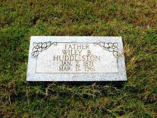 HUDDLESTON, WILEY B. - Independence County, Arkansas | WILEY B. HUDDLESTON - Arkansas Gravestone Photos
