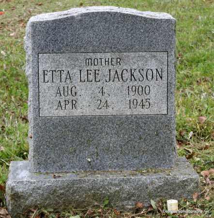 JACKSON, ETTA - Independence County, Arkansas | ETTA JACKSON - Arkansas Gravestone Photos