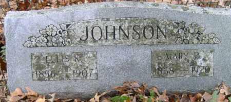 JOHNSON, ELLIS - Independence County, Arkansas | ELLIS JOHNSON - Arkansas Gravestone Photos