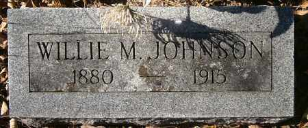 JOHNSON, WILLIE M. - Independence County, Arkansas | WILLIE M. JOHNSON - Arkansas Gravestone Photos