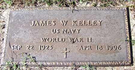 KELLY (VETERAN WWII), JAMES W - Independence County, Arkansas   JAMES W KELLY (VETERAN WWII) - Arkansas Gravestone Photos