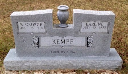 RUSH KEMPF, EARLINE - Independence County, Arkansas | EARLINE RUSH KEMPF - Arkansas Gravestone Photos