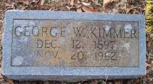 KIMMER, GEORGE W. - Independence County, Arkansas | GEORGE W. KIMMER - Arkansas Gravestone Photos