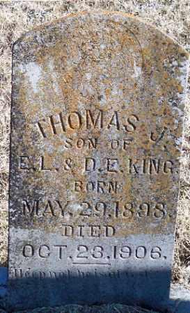 KING, THOMAS. J. - Independence County, Arkansas | THOMAS. J. KING - Arkansas Gravestone Photos