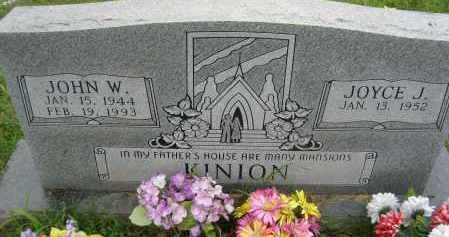 KINION, JOYCE J. - Independence County, Arkansas | JOYCE J. KINION - Arkansas Gravestone Photos