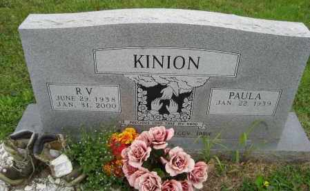 KINION, R.V. - Independence County, Arkansas | R.V. KINION - Arkansas Gravestone Photos