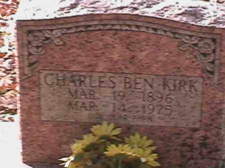 "KIRK, CHARLES ""CHARLIE"" BEN WILLIAM - Independence County, Arkansas | CHARLES ""CHARLIE"" BEN WILLIAM KIRK - Arkansas Gravestone Photos"
