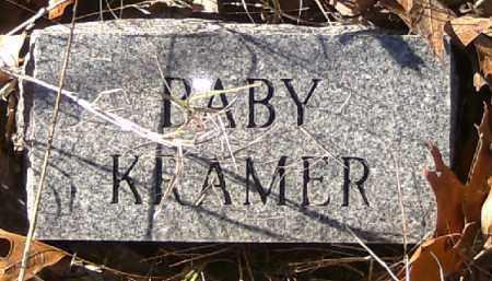 KRAMER, BABY - Independence County, Arkansas | BABY KRAMER - Arkansas Gravestone Photos