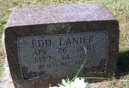 LANIER, EDD - Independence County, Arkansas   EDD LANIER - Arkansas Gravestone Photos