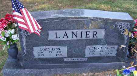 LANIER, JAMES LYNN - Independence County, Arkansas | JAMES LYNN LANIER - Arkansas Gravestone Photos