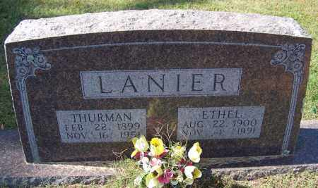LANIER, THURMAN - Independence County, Arkansas | THURMAN LANIER - Arkansas Gravestone Photos