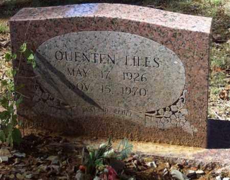 LILES, QUENTEN - Independence County, Arkansas   QUENTEN LILES - Arkansas Gravestone Photos