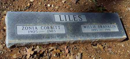 CORBITT LILES, ZONIA - Independence County, Arkansas | ZONIA CORBITT LILES - Arkansas Gravestone Photos