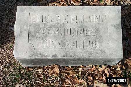 LONG, DR. EUGENE R. - Independence County, Arkansas | DR. EUGENE R. LONG - Arkansas Gravestone Photos