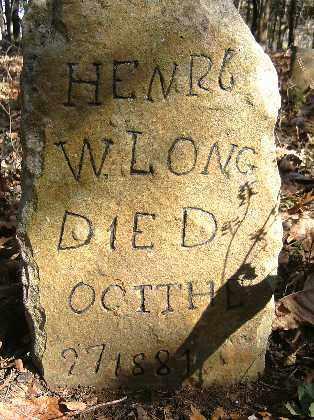 LONG, HENRY W. - Independence County, Arkansas | HENRY W. LONG - Arkansas Gravestone Photos