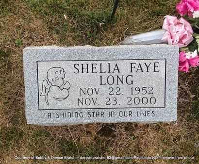 LONG, SHELIA FAYE - Independence County, Arkansas   SHELIA FAYE LONG - Arkansas Gravestone Photos