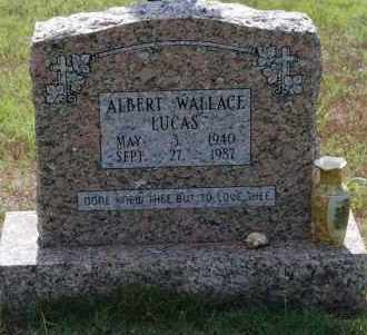 LUCAS, ALBERT WALLACE - Independence County, Arkansas | ALBERT WALLACE LUCAS - Arkansas Gravestone Photos