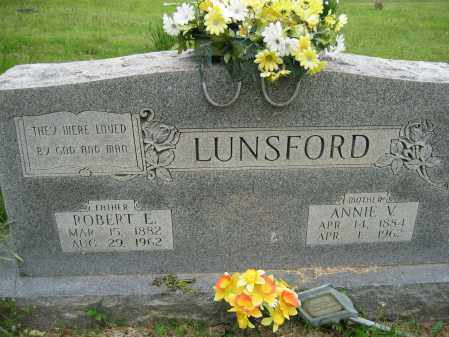 LUNSFORD, ROBERT E. - Independence County, Arkansas | ROBERT E. LUNSFORD - Arkansas Gravestone Photos