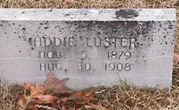 LUSTER, ADDIE - Independence County, Arkansas | ADDIE LUSTER - Arkansas Gravestone Photos