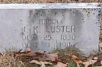 LUSTER, JOHN KELLEY - Independence County, Arkansas | JOHN KELLEY LUSTER - Arkansas Gravestone Photos