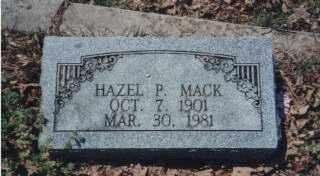 PARKS MACK, HAZEL EDNA - Independence County, Arkansas | HAZEL EDNA PARKS MACK - Arkansas Gravestone Photos