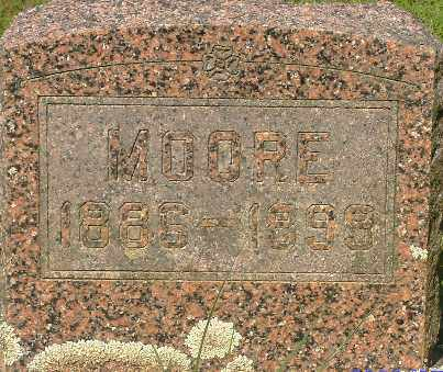 MAGNESS, MOORE - Independence County, Arkansas | MOORE MAGNESS - Arkansas Gravestone Photos