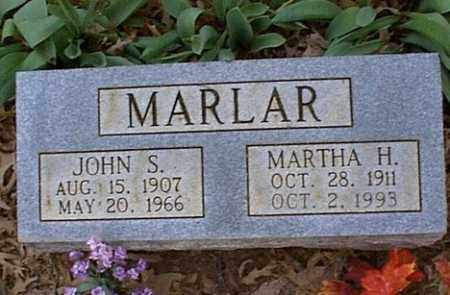 MARLAR, JOHN S. - Independence County, Arkansas | JOHN S. MARLAR - Arkansas Gravestone Photos
