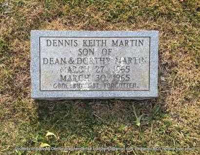 MARTIN, DENNIS KEITH - Independence County, Arkansas | DENNIS KEITH MARTIN - Arkansas Gravestone Photos