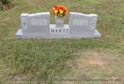 "MARTZ, OWEN R ""SNOOKS"" - Independence County, Arkansas   OWEN R ""SNOOKS"" MARTZ - Arkansas Gravestone Photos"